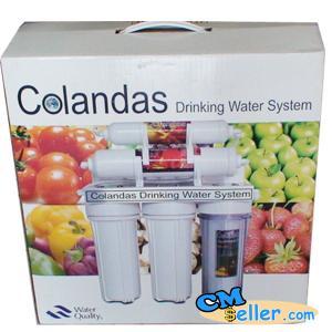 เครื่องกรองน้ำ 5 ขั้นตอน กล่องผลไม้ Colandas